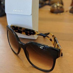 Prada Sunnies SPR 10R Havanah Sunglasses